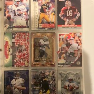 football trading cards p1